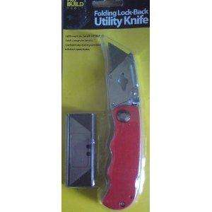 Folding Lock-Back Utility Knife £1.99 in store B&M store