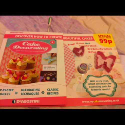 Cake Decorating Magazine Issue 1 99p