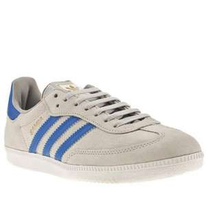 Men's adidas samba £26.99 delivered at schuh (grey / blue) + 5% quidco