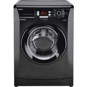 Beko WMB81241 Washing Machine - Black. 8kg - Hand wash- LCD Display-A+ Energy efficiency rating - Also buy now pay nothing for 12 months if you have argos card. Small Delivery charge will apply. Great Reviews £259