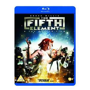 The Fifth Element Blu-ray @ Amazon £6.94 free delivery. Also part of 3 for £17
