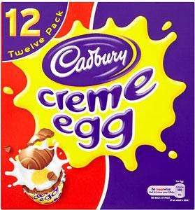 Cadbury's Creme Eggs 12 Pack £2 @ Tesco