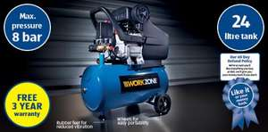 2.5HP Air Compressor £99.99 @ aldi  3 year warranty
