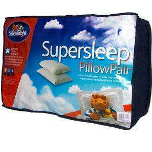 Silentnight Supersleep Pillow Pair £6.99 @ Home Bargains