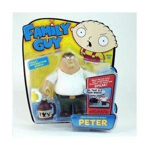 "Family Guy 6"" Interactive Peter Figure £9.95 @ Amazon / staractionfiguresuk"