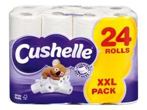 Cushelle Toilet Tissue - 24 Rolls £7.49 @ LIDL