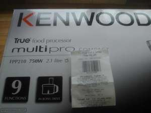 Kenwood FPP210 Food Processor - £20 - Tesco INSTORE ONLY