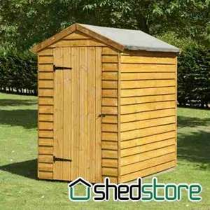 Overlap Security Shed £134.95 @ Shedstore