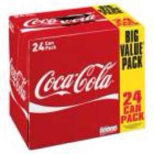 48 cans of 330ml Coke/Diet Coke for £12 @ FarmFoods