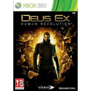 Deus Ex: Human Revolution (XBOX360) = £6.60 brand new @ Amazon