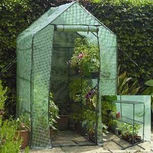 Gardman Walk In Greenhouse with Shelving at Charlies Direct £49.99