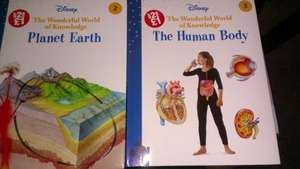 Disney 'The Wonderful World of Knowledge' books - Any two for £1 @ Poundland