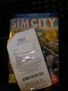 Sim city (2013) Limited edition £33.50 in Tesco (Plus free EA Game)