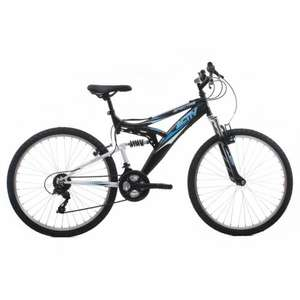 Activ by Raleigh Spectre Men's Dual Suspension Mountain Bike - Black, 18 Inch. £71.96 at Amazon (under half price)