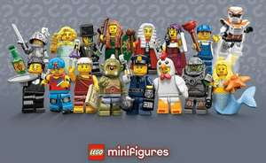 Lego mini-figures Loyalty card @ Toymasters stores - buy 5 get 1 free...£1.99ea with offer £1.65 each