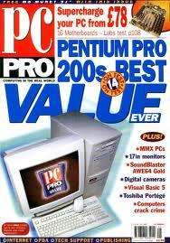3 issues of PC PRO for £1