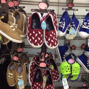 Baby vans, converse & crocs style shoes from £2.50 @ primark