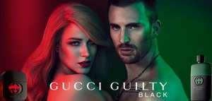 Free Gucci Guilty Black for Men or Women Sample