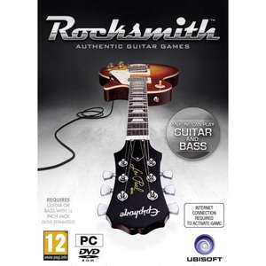 Rocksmith- includes Real Tone Cable (PC) - £19.99 @ Amazon