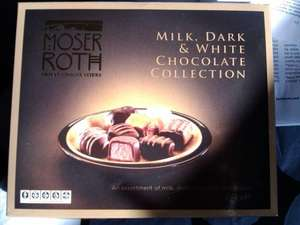 Moser Roth Chocolate Selection (Milk, Dark and White or just Milk Chocolate) £1.49 (was £2.99) @ Aldi