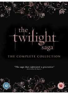 The Twilight Saga: The Complete Collection [DVD] - £20 @ Tesco