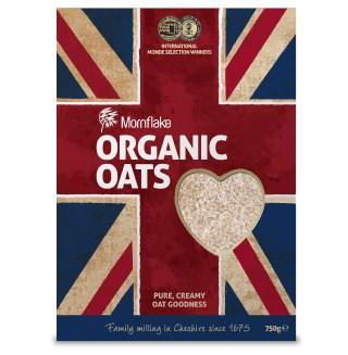 Mornflake Organic Oats - Super CREAMY - 750g £1 @ Morrisons