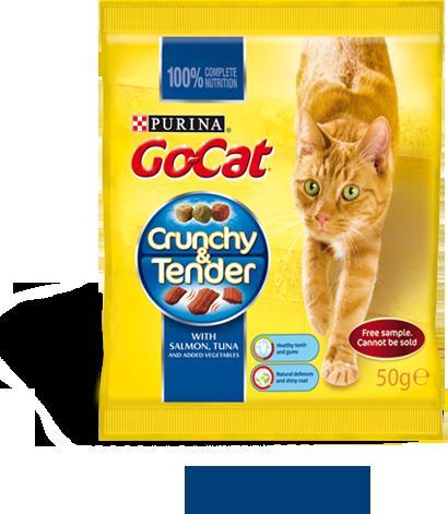 Go cat crunchy & Tender sample