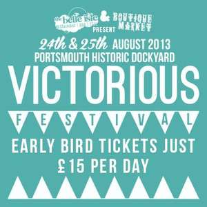Victorious Festival in Portsmouth - Tickets for £15.00 per day (24-25 Aug)