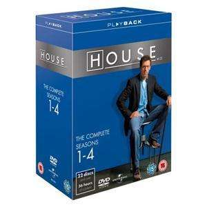 House M.D.: Seasons 1-4 (22 Discs) £9.49 delivered @ Play.com