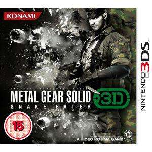 Metal Gear Solid:  Snake Eater 3DS - 10.78 delivered at thehut