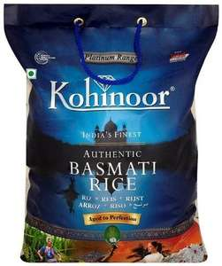 Kohinoor Platinum Basmati Rice 10 kg - £7.83 delivered from AMAZON