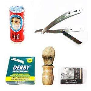 Cut-throat Razor + 100 Blades + More! £14.95 Delivered @ Amazon/Barber Blades Ltd