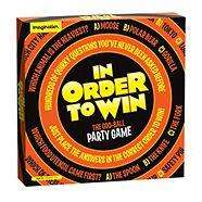 'In Order to Win' an odd ball party board game £5.40 delivered @Debenhams