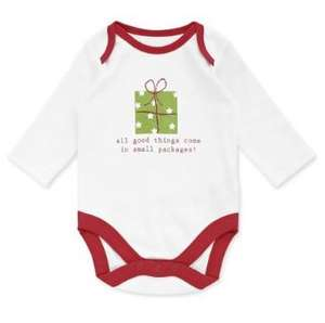 2 Mothercare Christmas Bodysuits (Babygrows)  for £1.45 delivered to store in Mother care