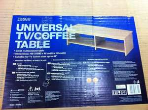 Universal TV/Coffee table £1 instore @ Tesco (Ricoh, Coventry)