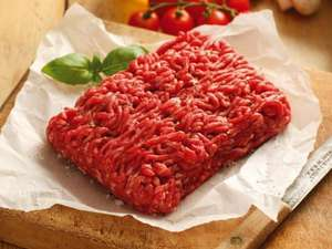British Beef Lean Steak Mince - 500g £2.29 @ Lidl