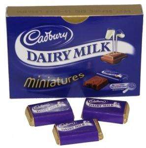 Dairy Milk Miniatures 9 packs (of 20 miniatures) £13.50 delivered @amazon