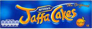 McVities Jaffa Cakes 50p @ Asda 12 pack