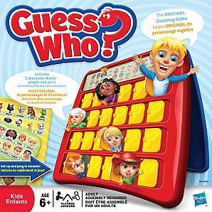 guess who game - £10 at Asda direct