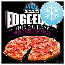 "Chicago Town Edge to Edge ""New York Deli"" Pizza for the princely sum of 75p @ Sainsbury's Grocery"