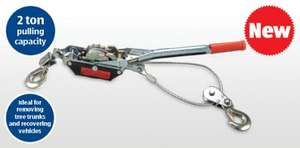 2 Ton Heavy Duty Power Puller £12.99  - Instore Aldi from next Thursday 21st March