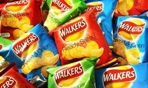 Walkers Crisps 10p per packet (past best before date) @ Poundworld (Woking)