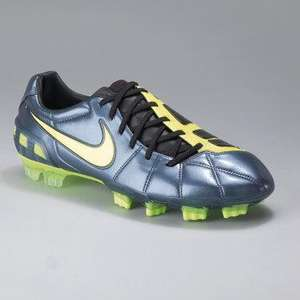 Nike Total 90 Laser III FG Football Boots In Grey / Neon SIZE 6 ONLY @littlewoods ebay clearance