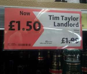 Timothy Taylor Landlord beer (usually £1.99, very rarely on offer) £1.50 @ Morrisons