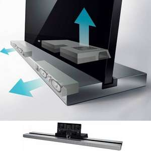 Sony Monolithic TV stand with built-in speakers £31.50 (for 55inch TVs) @ RGB Direct