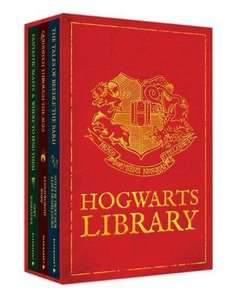 The Hogwarts Library Boxed Set [Hardcover] Delivered by Amazon for £10 (Comic Relief and Lumos will benefit from the sale of each set)