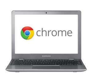 Samsung Chromebook series 5 550 wifi and 3g, reduced from £430 to £299.99 @ Currys