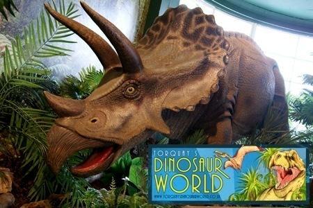 Dinosaur World Entry for 2 £5.95 @ Groupon - torquaysdinosaurworld.co.uk
