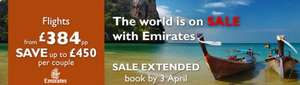 Up to £450 Off Emirates Flights With Flight Centre (Per Couple)