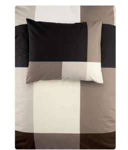NOT EXPIRED. H&M duvet cover set, £5 (with codes) 150x200 + 50x80  CM dark brown